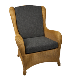 Lloyd loom King chair naturell super Sessel