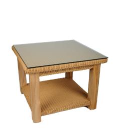 Lloyd loom Tisch Celine Kwadraat Naturell