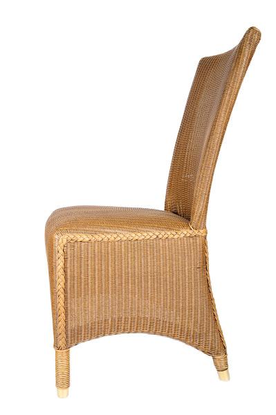 lloyd loom stuhl melbourne karamell lloyd loom shop24. Black Bedroom Furniture Sets. Home Design Ideas