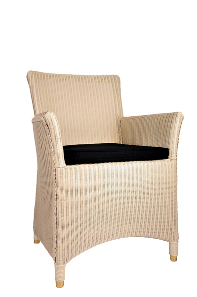 04 lloyd loom sessel 3504 creme 10 lloydloomshop24. Black Bedroom Furniture Sets. Home Design Ideas