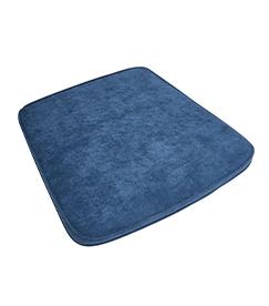 Kissen Demin Blau loom Sessel